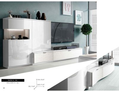 Brands Fenicia Wall Units, Spain Fenicia Wall Unit Salon 14