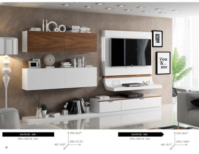 Brands Fenicia Wall Units, Spain Fenicia Wall Unit Salon 22