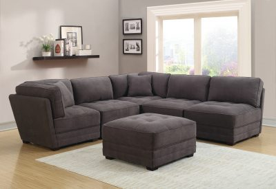 Living Room Furniture Sectionals Gordon Sectional w/Ottoman