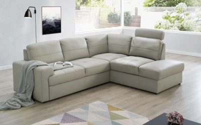 Ella Sectional Right w/Bed & Storage