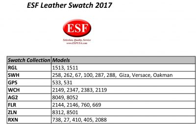 Living Room Furniture Swatches Stock Living Leather Swatch Info