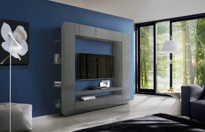 Prisma Wall Unit Grey