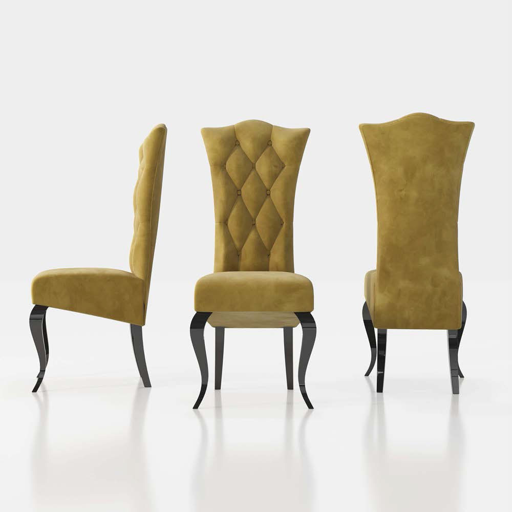 Brands Franco AZKARY II Chairs, SPAIN GEA CAPITONE CHAIR ( 1 Piece )
