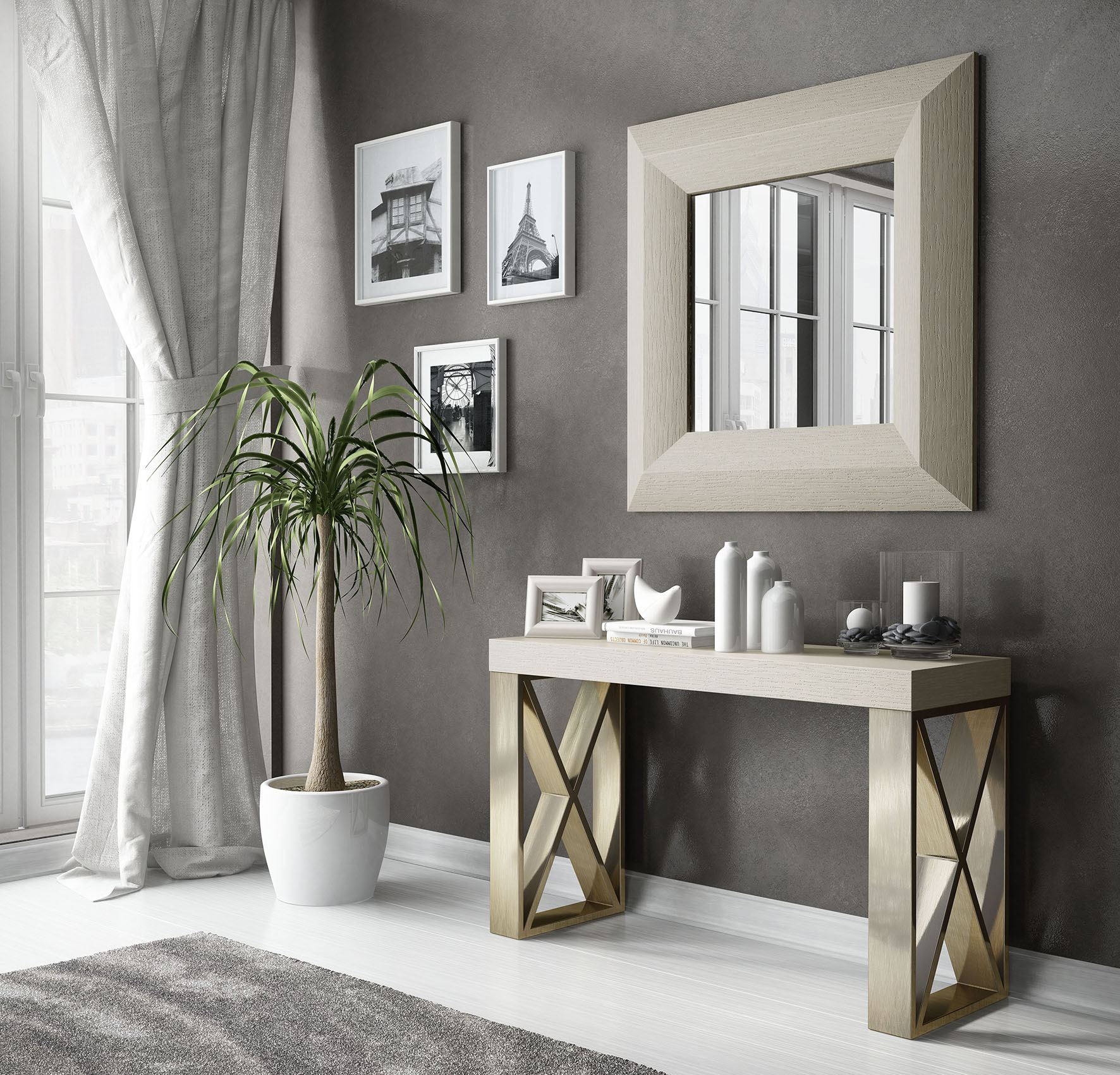 Brands Franco AZKARY II CONSOLES, Spain CII.40 Console Table