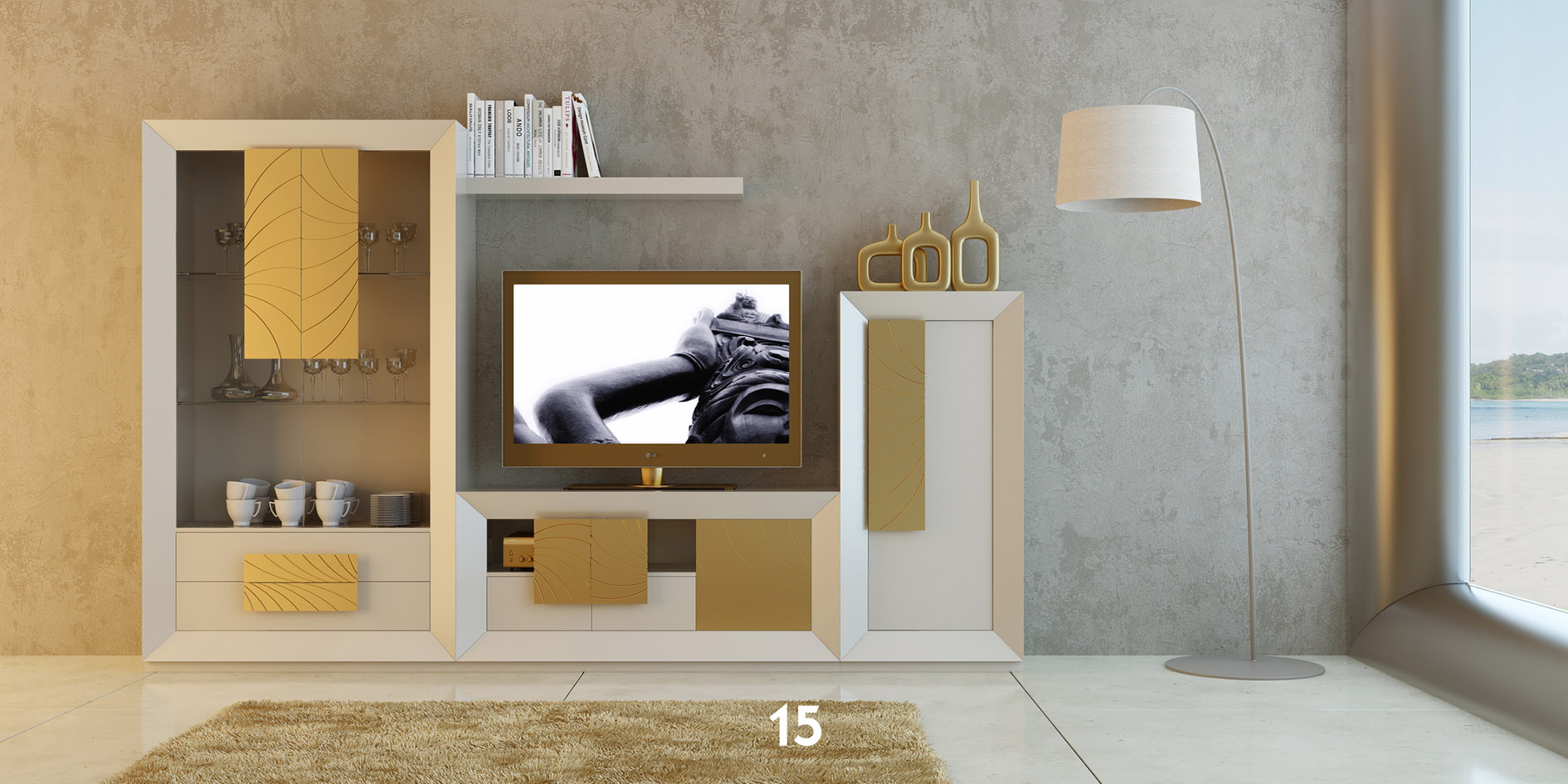 Brands Franco Kora Dining and Wall Units, Spain KORA 21