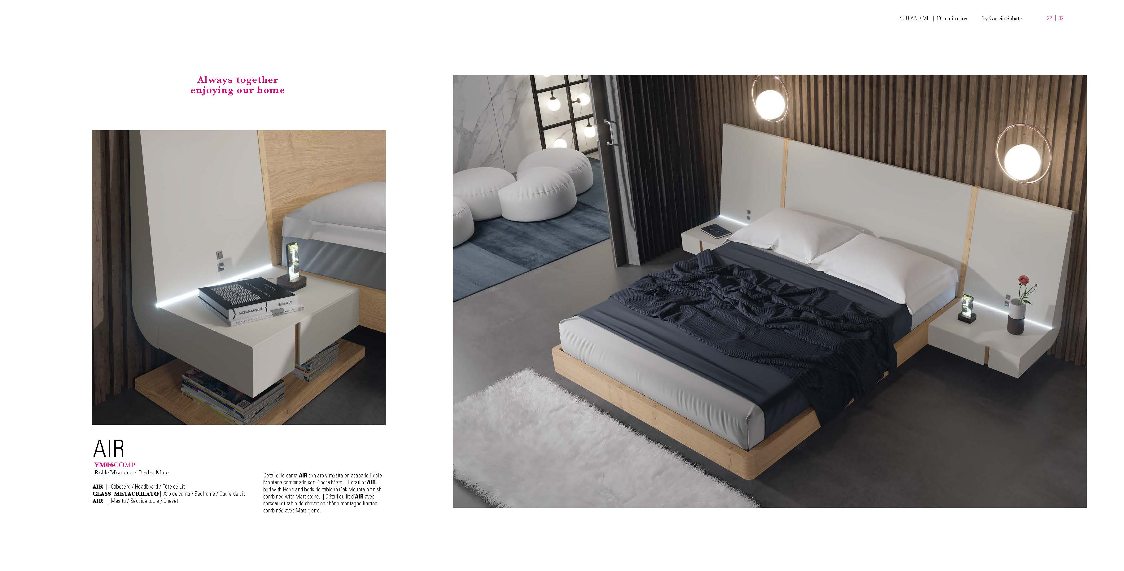 Brands Garcia Sabate, Modern Bedroom Spain YM06