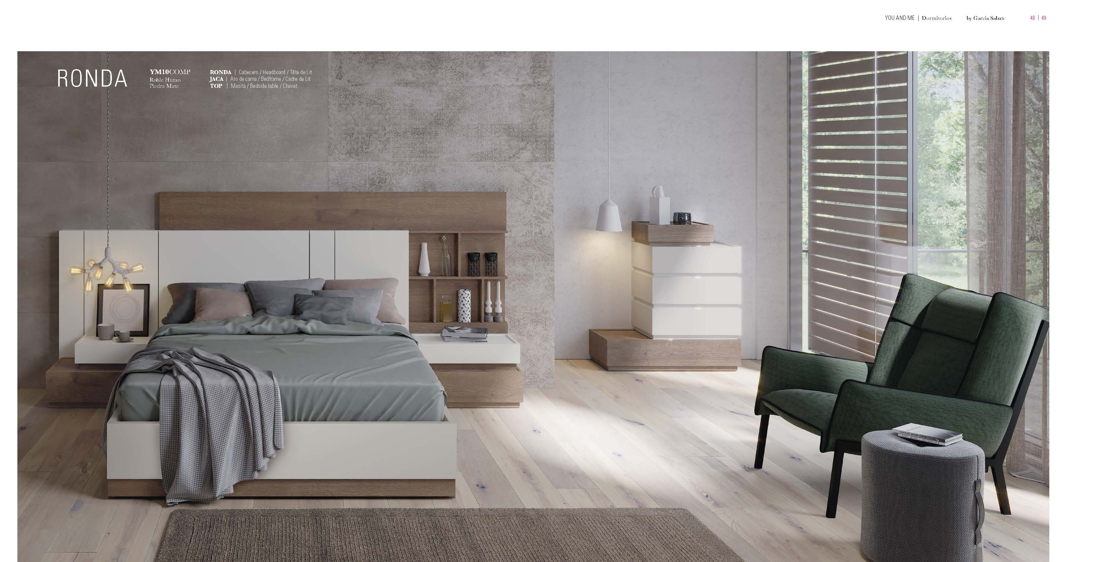 Brands Garcia Sabate, Modern Bedroom Spain YM10