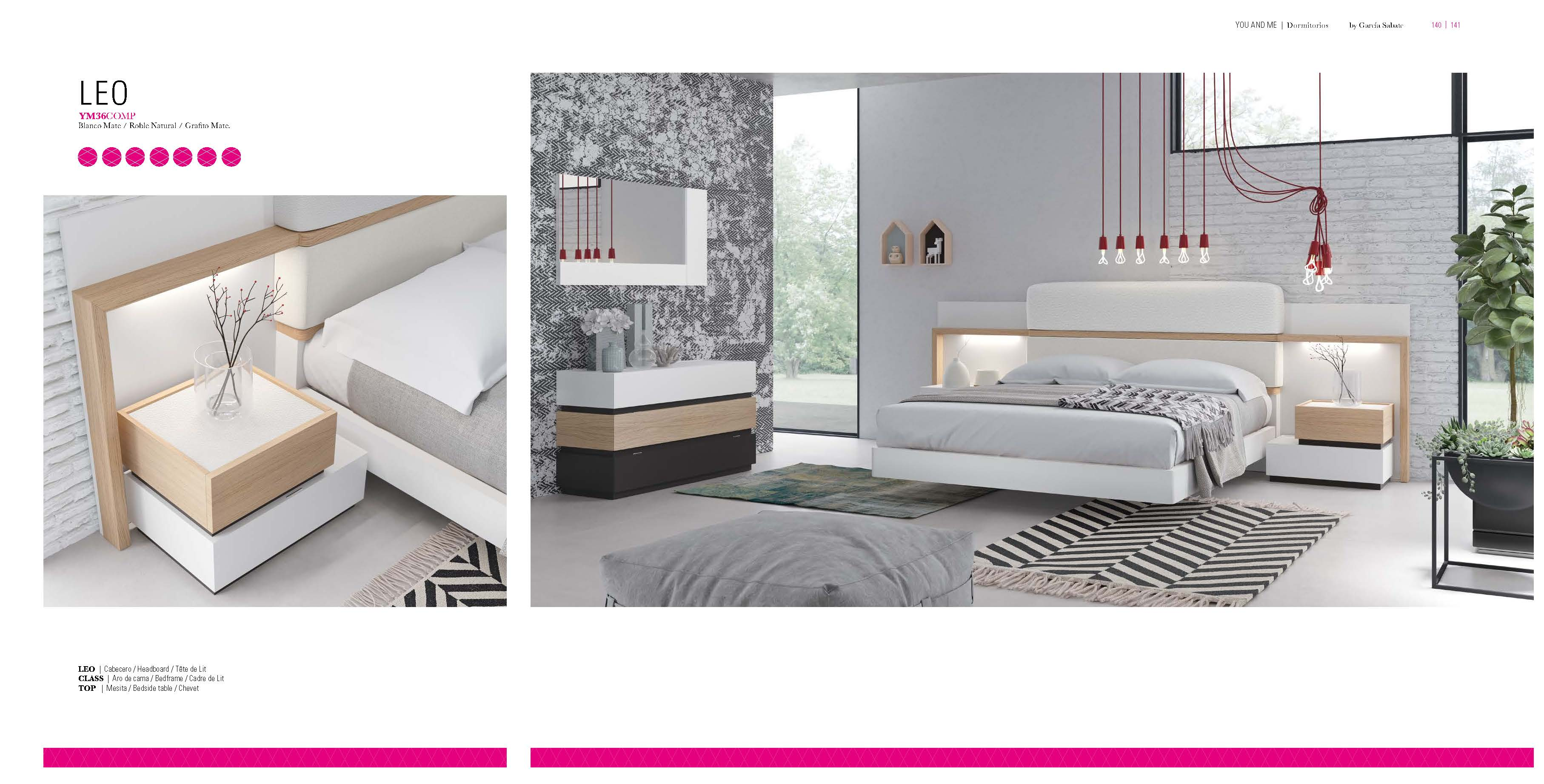 Brands Garcia Sabate, Modern Bedroom Spain YM36