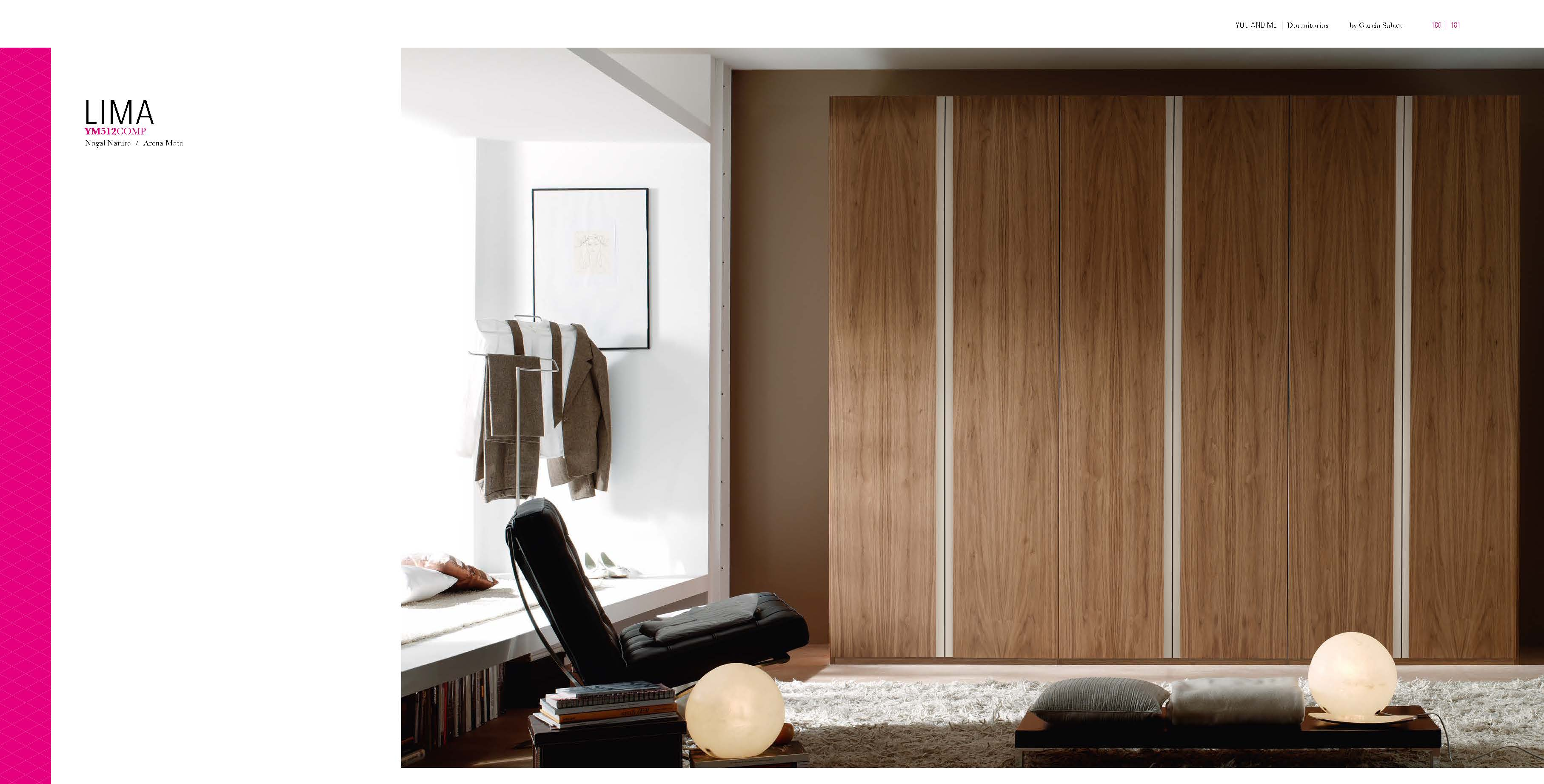 Brands Garcia Sabate, Modern Bedroom Spain YM512 Wardrobe
