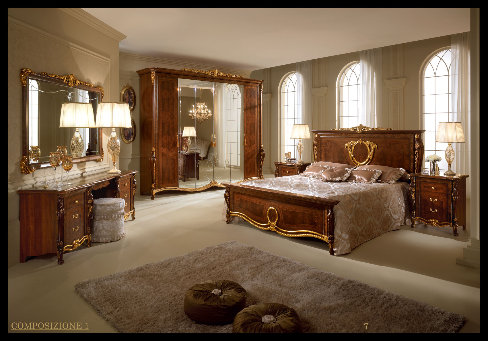 Donatello Night Arredoclassic Bedroom Italy Collections - Classic italian furniture